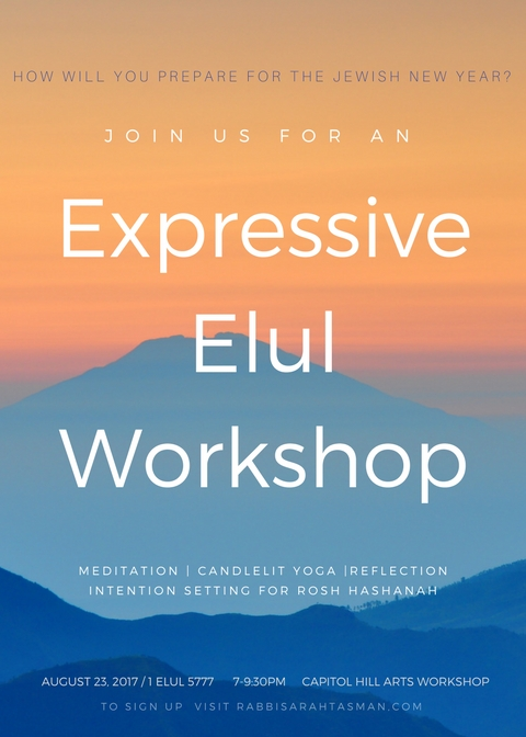 Expressive Elul Workshop